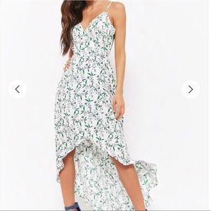 Lush | Floral High Low Wrap Dress